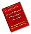 Secret Traffic Strategies For 2007 Plr Ebook