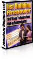 List Building Firepower MRR Ebook