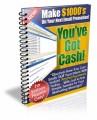 You've Got Cash Plr Ebook