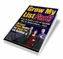 Grow My List Fast Mrr Ebook