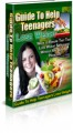 Help Teenagers Lose Weight PLR Ebook