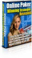 Online Poker Strategies PLR Ebook