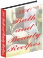 500 Bath And Beauty Recipes Resale Rights Ebook