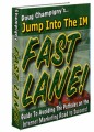Jump Into The Internet Marketing Fast Lane Resale Rights Ebook