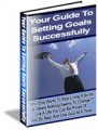 Your Guide To Setting Goals Successfully Resale Rights Ebook