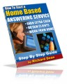 How To Start A Home Based Answering Service Resale Rights Ebook