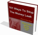 101 Ways To Stop The Money Leak Resale Rights Ebook