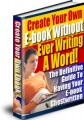 Create Your Own E-Book Without Ever Writing A Word Resale Rights Ebook