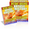 Instant Adsense Article Directory Resale Rights Ebook