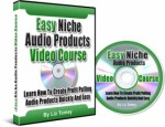 Easy Niche Audio Products Video Course Resale Rights Ebook