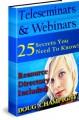 Teleseminars  Webinars MRR Ebook