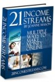 21 Income Streams MRR Ebook