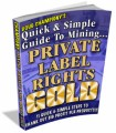 Private Label Rights Gold MRR Ebook