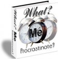 What Me Procrastinate PLR Ebook
