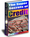 The Super Secrets Of Credit PLR Ebook