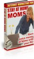 Internet Marketing For Stay At Home Moms PLR Ebook