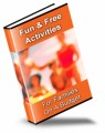Fun  Free Activities For Families On A Budget PLR Ebook