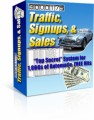 Traffic Signups  Sales PLR Ebook