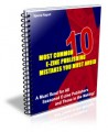 Most Common E-Zine Publishing Mistakes You Must Avoid PLR Ebook