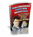 Make Exponential Profits With Backend Sales PLR Ebook