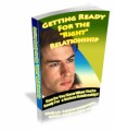 Getting Ready For The Right Relationship PLR Ebook