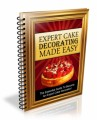 Expert Cake Decorating Made Easy PLR Ebook