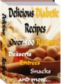 Delicious Diabetic Recipes PLR Ebook