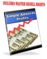 Simple Adwords Profits - Learning How To Use Google Adwords Profitable Mrr Ebook