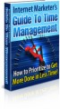 Internet Marketers Guide To Time Management Mrr Ebook