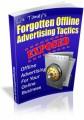Forgotten Offline Advertising Tactics Mrr Ebook