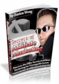 Secrets Of Affiliate Marketing Personal Use Ebook