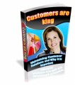 Customers Are King PLR Ebook