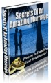 Secrets Of An Amazing Marriage MRR Ebook