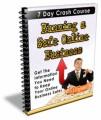 Running A Safe Online Business Ecourse PLR Ebook