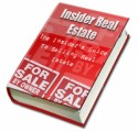 The Insiders Guide To Selling Real Estate PLR Ebook