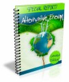 Alternative Energy PLR Ebook