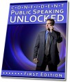 Confident Public Speaking Unlocked PLR Ebook