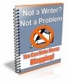 Make Money Blogging PLR Ebook