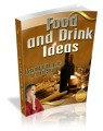 Food And Drink Ideas Mrr Ebook