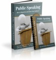 Public Speaking Niche Site PLR Ebook