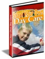 Start Your Own Day Care Plr Ebook