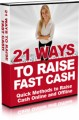 21 Ways To Raise Fast Cash Mrr Ebook