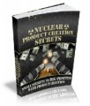 Nuclear Product Creation Secrets Mrr Ebook