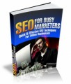 Seo For Busy Marketers Mrr Ebook