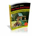 Backyard Ideas For Fun And Frolic MRR Ebook