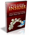 Work At Home Insider Resale Rights Ebook