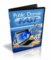 Public Domain Fast Resale Rights Ebook With Video