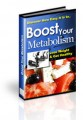 Boost Your Metabolism Plr Ebook