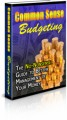 Common Sense Budgeting Plr Ebook