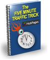 The Five Minutes Traffic Trick Plr Ebook